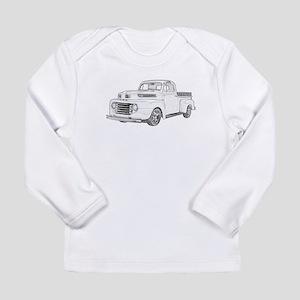 1950 Ford F1 Long Sleeve Infant T-Shirt