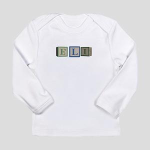 Eli Alphabet Block Long Sleeve Infant T-Shirt