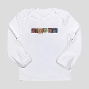 Rosie Alphabet Blocks Long Sleeve Infant T-Shirt