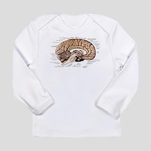 Human Brain Long Sleeve Infant T-Shirt