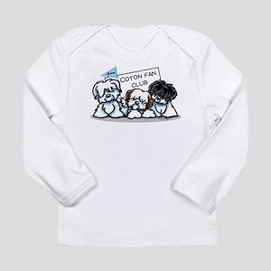 I Love Cotons Long Sleeve Infant T-Shirt
