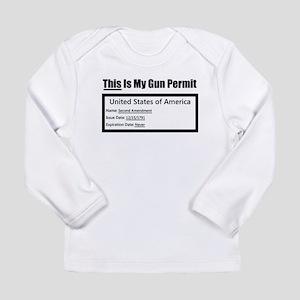 Second Amendment Long Sleeve Infant T-Shirt