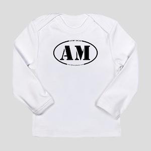 Army Mom (Oval) Long Sleeve Infant T-Shirt