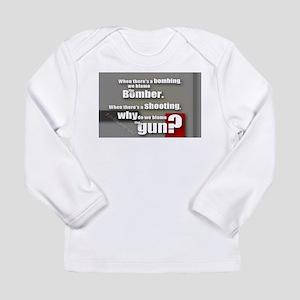 Blaming the gun? Long Sleeve T-Shirt