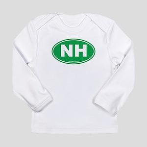 New Hampshire NH Euro O Long Sleeve Infant T-Shirt