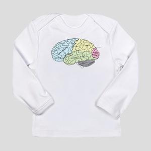 dr brain lrg Long Sleeve T-Shirt