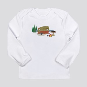 Camping Trailer Long Sleeve T-Shirt
