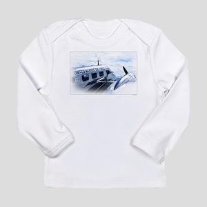 Vintage Aircraft Long Sleeve Infant T-Shirt