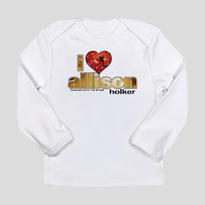 I Heart Allison Holker Long Sleeve Infant T-Shirt