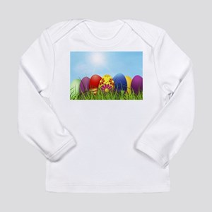 easter eggs Long Sleeve T-Shirt