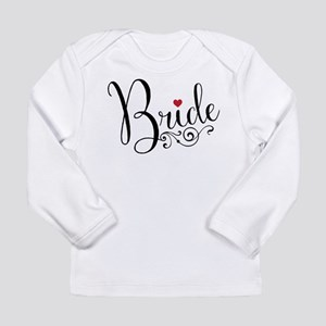Elegant Bride Long Sleeve Infant T-Shirt