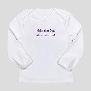 Make Your Own Cursive S Long Sleeve Infant T-Shirt