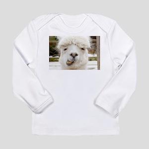 Funny Alpaca Smile Long Sleeve T-Shirt