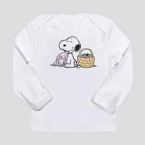 Beagle and Bunny Long Sleeve Infant T-Shirt