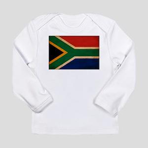 South Africa Flag Long Sleeve Infant T-Shirt