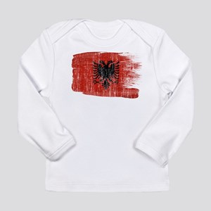 Albania Flag Long Sleeve Infant T-Shirt