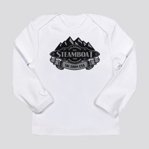 Steamboat Mountain Emblem Long Sleeve Infant T-Shi