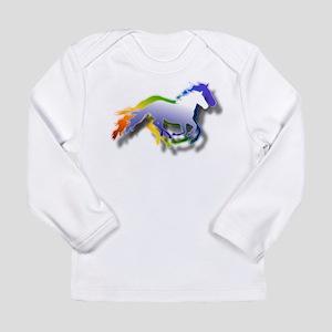 Running Long Sleeve Infant T-Shirt