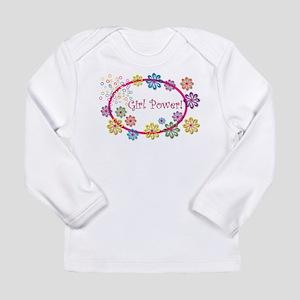 Girl Power Long Sleeve Infant T-Shirt