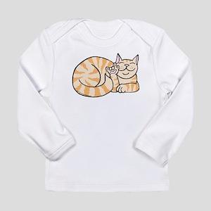OrangeTabby ASL Kitty Long Sleeve Infant T-Shirt