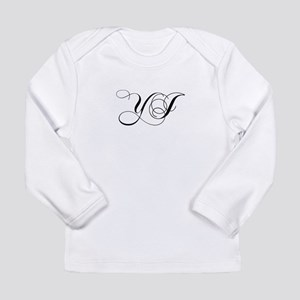 YJ-cho black Long Sleeve T-Shirt