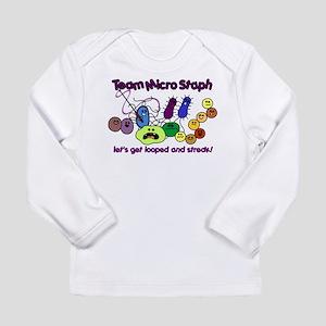 I Love Bacteria Long Sleeve Infant T-Shirt
