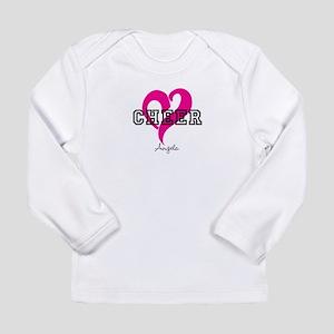 Love Cheer Heart Long Sleeve T-Shirt
