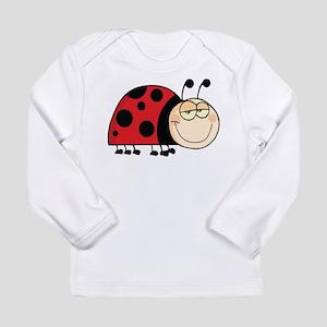 Cute Ladybug Long Sleeve T-Shirt