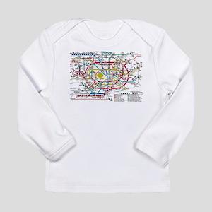 SUBWAY - METRO MAPS - TOKYO JA Long Sleeve T-Shirt