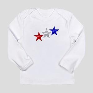 Three Shiny Stars Long Sleeve Infant T-Shirt