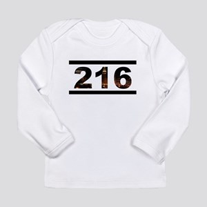 Straight Outta 216 Long Sleeve Infant T-Shirt
