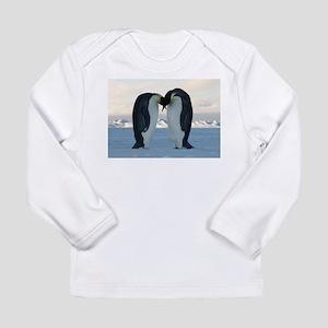Emperor Penguin Courtship Long Sleeve T-Shirt