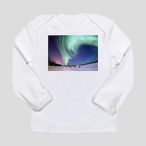 Northern Lights of Alaska Phot Long Sleeve T-Shirt
