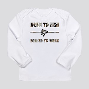 BORN TO FISH Long Sleeve Infant T-Shirt