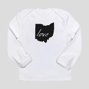 Love Ohio Long Sleeve Infant T-Shirt