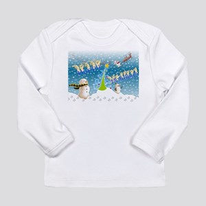 Holiday, happy Long Sleeve Infant T-Shirt