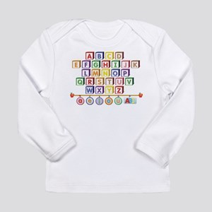 ABC Blocks Long Sleeve Infant T-Shirt