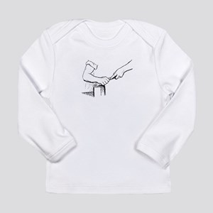 Champering against the grain Long Sleeve T-Shirt
