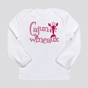 Cajun Wineaux crawfish Long Sleeve Infant T-Shirt