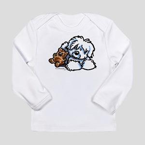 Coton Teddy Long Sleeve Infant T-Shirt