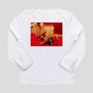 Christmas Lizard Long Sleeve T-Shirt