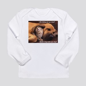 Would a Hug Make Your Day Long Sleeve T-Shirt