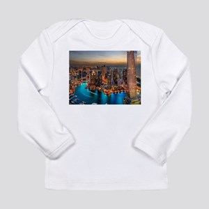 Dubai Skyline Long Sleeve T-Shirt