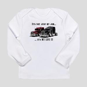 Trucker - it's my life Long Sleeve Infant T-Shirt
