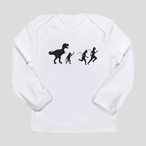 T Rex Evolution Long Sleeve Infant T-Shirt