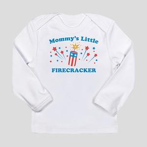 Mommys Little Firecracker Long Sleeve T-Shirt