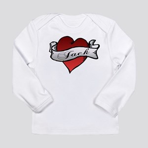 Jack Tattoo Heart Long Sleeve Infant T-Shirt