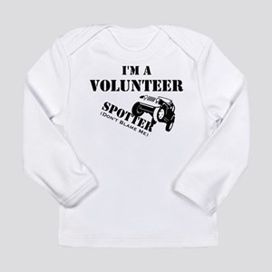 Volunteer Spotter Long Sleeve Infant T-Shirt
