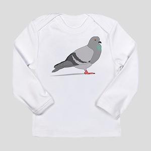 Cartoon Pigeon Long Sleeve T-Shirt