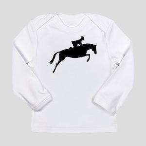 h/j horse & rider Long Sleeve Infant T-Shirt